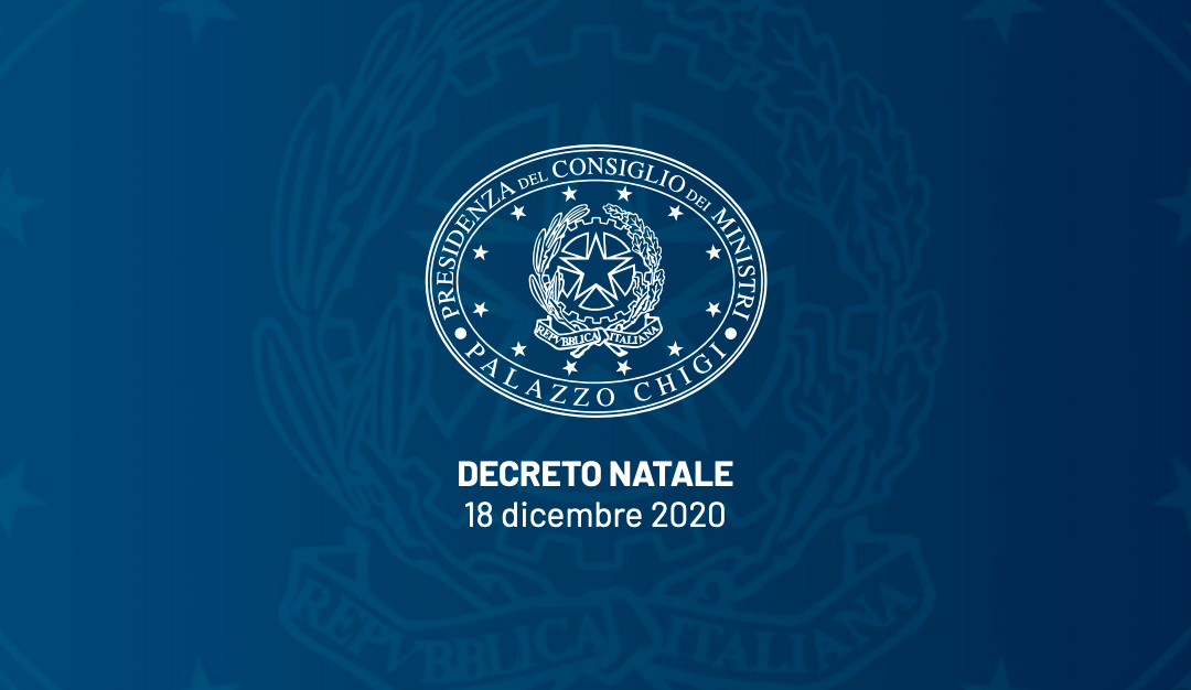 Decreto Natale: scarica il pdf ufficiale